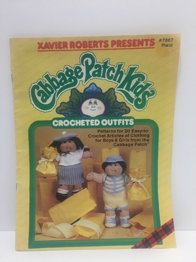 Vtg Pattern Book Xavier Roberts 1985 Cabbage Patch Kids 20 Clothing ...