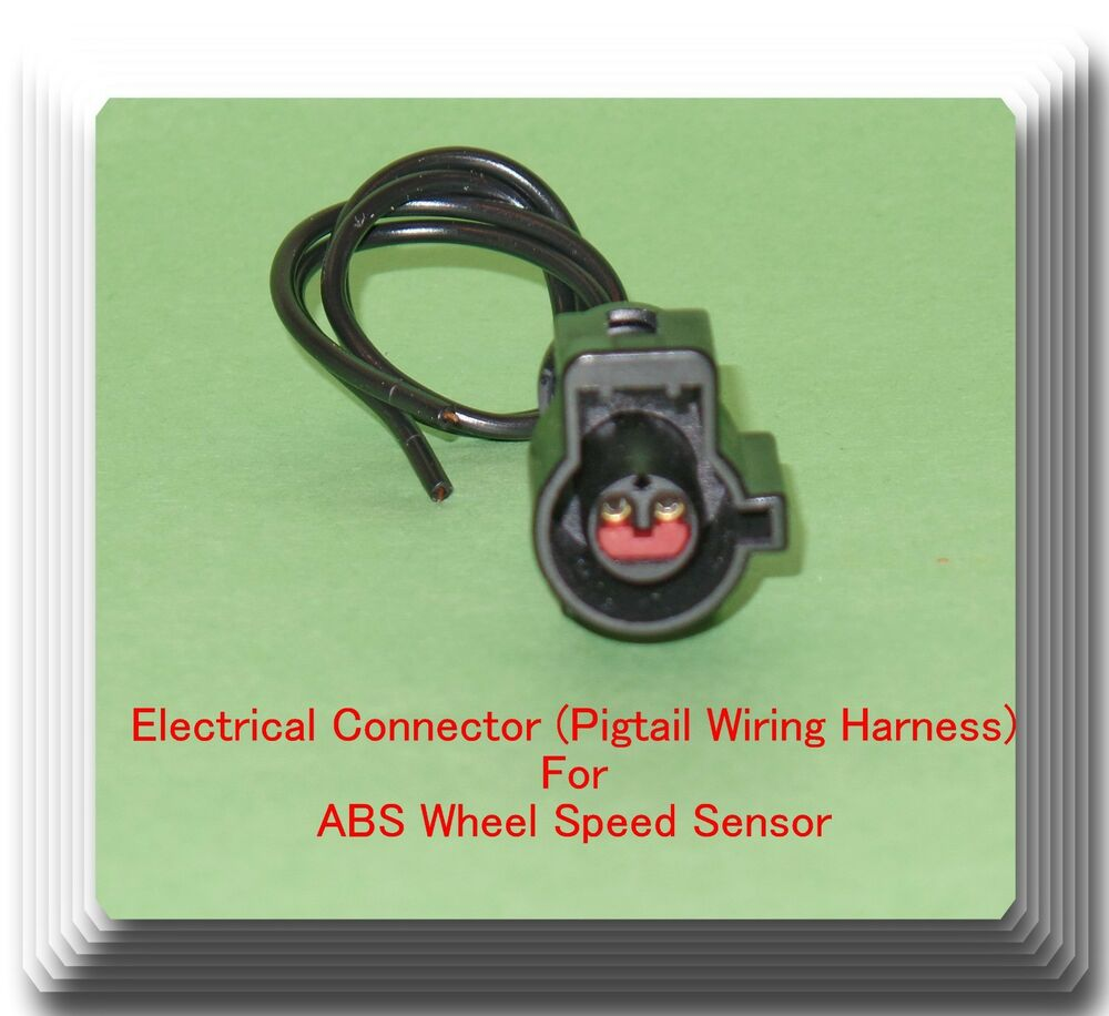 female electrical connector pigtail wiring harness of abs wheel details about female electrical connector pigtail wiring harness of abs wheel speed sensor