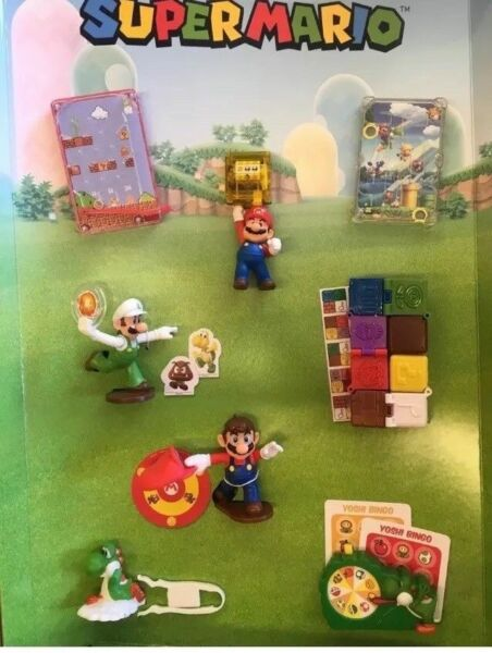 2018 McDONALD'S SUPER MARIO HAPPY MEAL TOYS! PICK YOUR FAVORITES! SHIPS NOW!