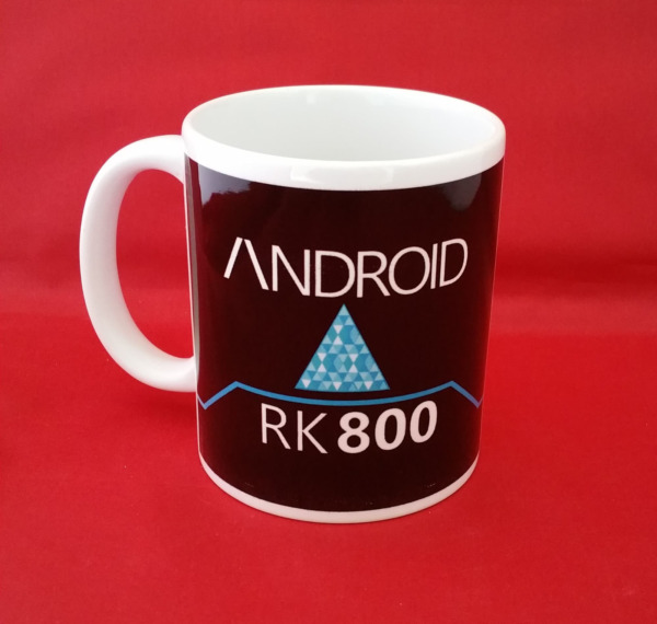 Detroit Become Human Andriod Inspired Fanart Tea Coffee Mug PS4 Game Console