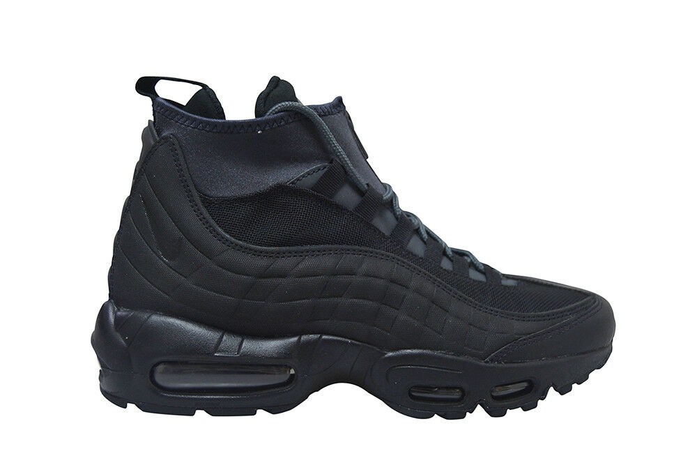 promo code 6cce2 ad96a Mens Nike Air Max 95 Sneakerboot - 806809 001 - Black Trainers   eBay