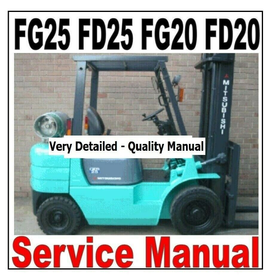 Mitsubishi Fg25 Fork Lift Schematic | Wiring Library