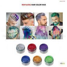 HAIR COLOR WAX/ TEMPORARY HAIR/ UNISEX COLOR/ FREE SHIPPING IN USA
