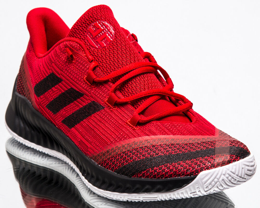 82c852ca8561 Details about adidas Harden B E 2 Men New James Harden Black White Red  Basketball Shoes BB7671