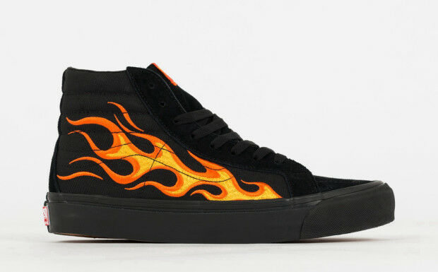9da388b929d ITEM NAME  VANS VAULT X WTAPS OG SK8-HI LX  FLAME  PRODUCT    V003T0UA3  SIZE  US MEN S 13.0. COLOR  BLACK FLAME