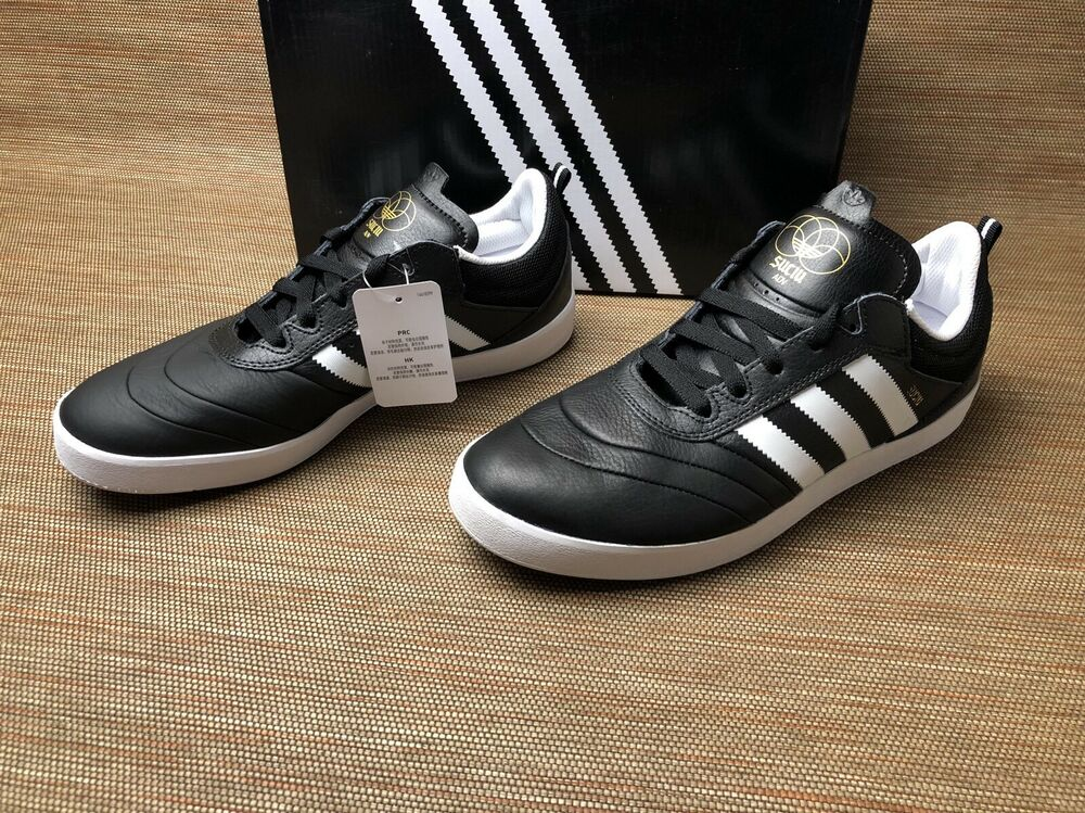 4c13677fc16 Details about Adidas Suciu ADV BY3937 Black White Skateboarding Brand New  Complete