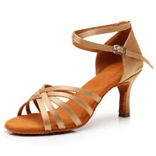 New Latin Dance Shoes Women Girl lady's Ballroom Tango Dancing heeled Salsa