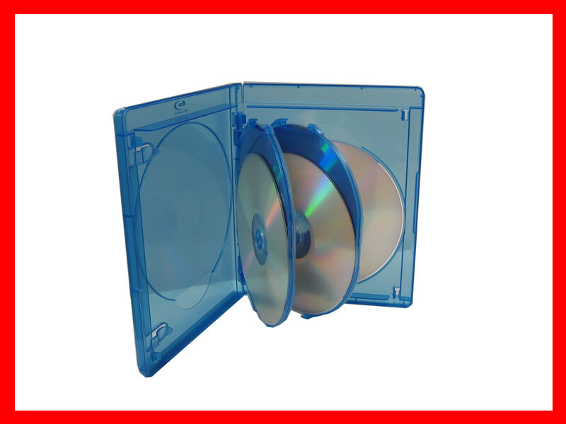 NEW 10 VIVA ELITE 9-Disc Premium Blu-ray Cases Holds 9 Discs