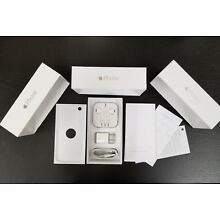 Apple iPhone 6 6 Plus Original Retail Box with OEM Accessories Earpod Charger