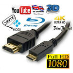 1.8M Micro USB To HDMI 1080p Cable TV AV Adapter Mobile Phones Tablets HDTV