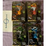 FINGERLINGS TREX Ironjaw Ripsaw Tracker Scratch Authentic WowWee Untamed all 4