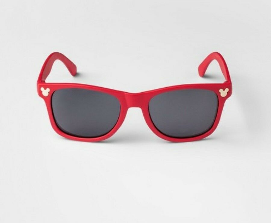 e82a7bd0e4 Details about NEW DISNEY JUNK FOOD TARGET RED MICKEY MOUSE SUNGLASSES KIDS  CHILDRENS GLASSES