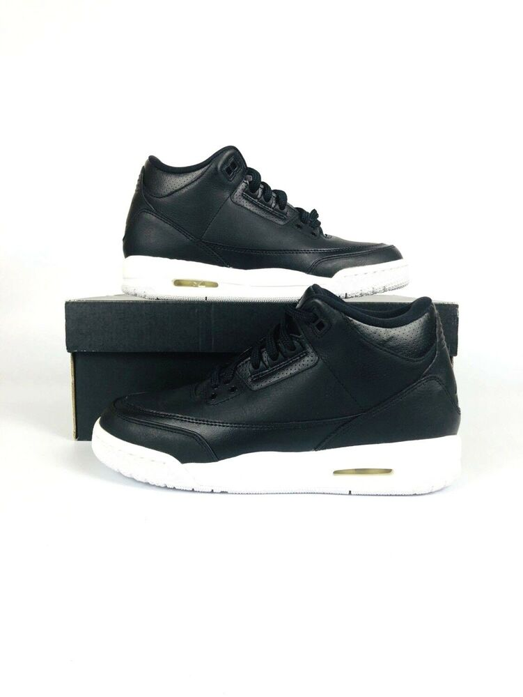 68a565583fc9 Details about NIKE AIR JORDAN III 3 RETRO GS SZ 6y CYBER MONDAY KIDS BLACK  WHITE 398614 020