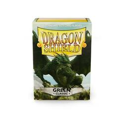 Classic Green 100 ct Dragon Shield Sleeves - FREE SHIPPING! 10% OFF 2+