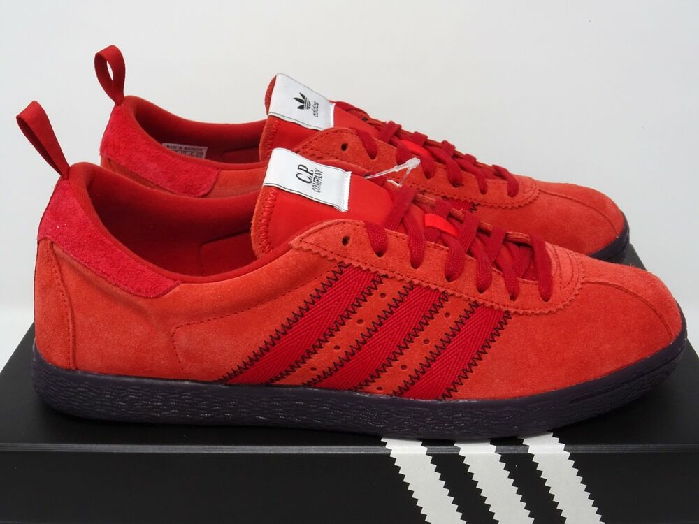 9ecaecc596c2 Adidas Originals CP Company Tobacco Red Black UK 5 6 7 8 9 10 11 12 US C.P