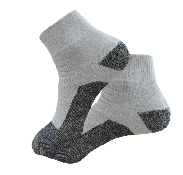 4 Pairs ANKLE PREMIUM QUALITY HEAVY FULL CUSHION SOCKS COTTON SIZE 9-11