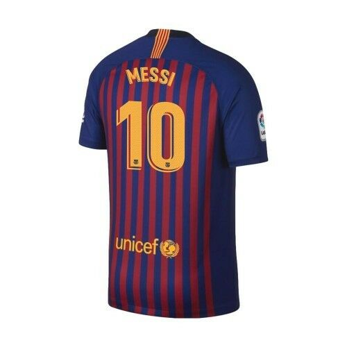54b64e4f99f Details about Nike FC Barcelona 2018 - 2019 Home Messi  10 Soccer Jersey  Kids - Youth