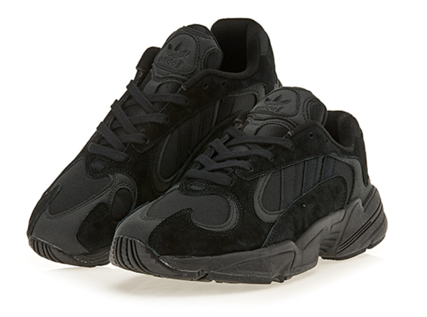 the latest c8dd5 2e0a9 Details about ADIDAS Yung 1 Triple Black G27026, Sports Shoes Unisex  Athletic Sneakers