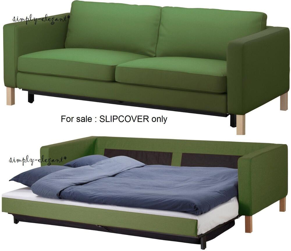 Ikea Cover For Karlstad Sofabed Sofa Bed Sleeper Slipcover Sivik