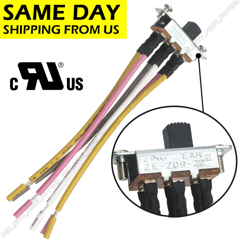 For Canal Ceiling Fan New 6 Pin Reverse Direction Switch Ze 209 22 208s6 Wiring Diagram Sl13b 615284478409 Ebay