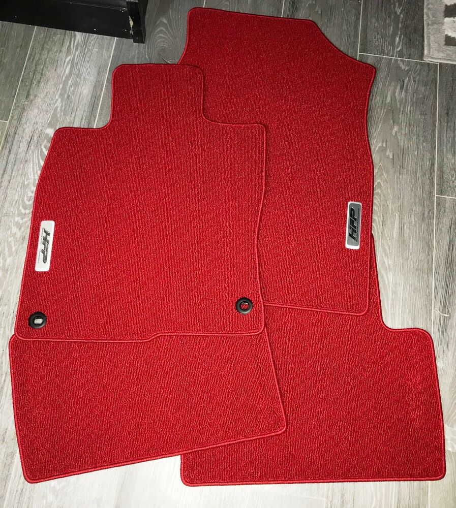 2016-2018 Honda Civic COUPE HFP RED Floor Mats