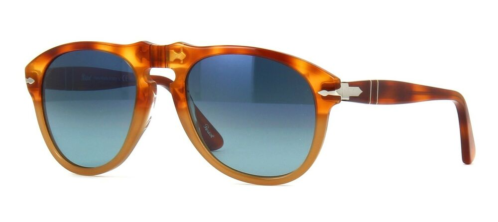 c3c416fac6 Details about Persol PO 0649 Resina E Sale Blue Shaded Polarized (1025 S3  A) Sunglasses