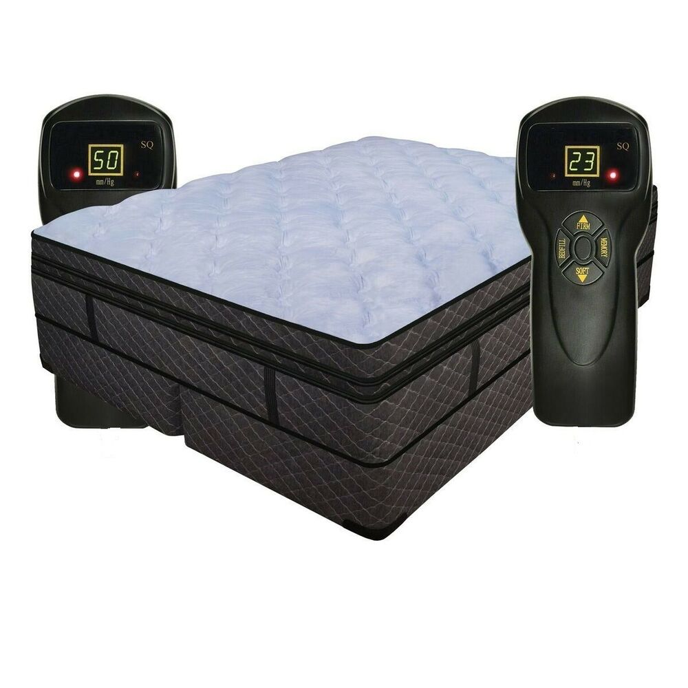 Split Cal King 14 Quot Air Electric Bed Compatible W Sleep