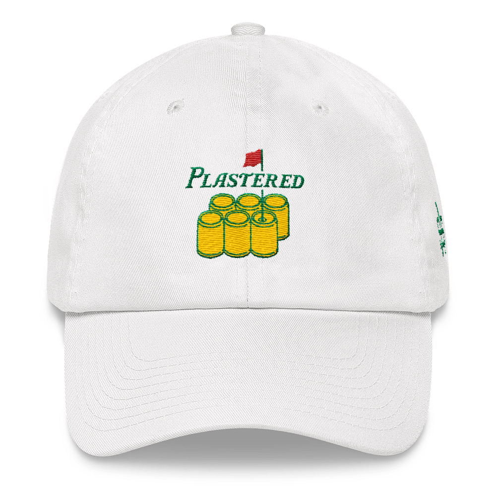 Details about Plastered Dad Hat - The Masters e4cf187f1f81