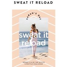 NEW Sarah's Day Sweat It Reload Fitness Guide