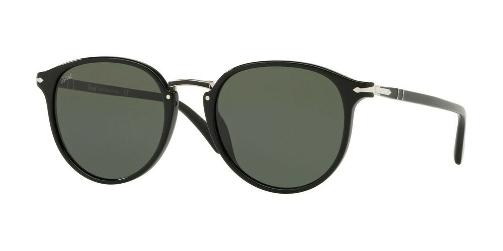 c8eaa727e8 Details about Persol TYPEWRITER EVOLUTION PO 3210S Black Grey Green (95 31)  Sunglasses