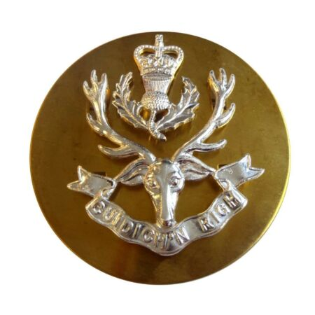img-BRITISH ARMY - SEAFORTH HIGHLANDERS BONNET BADGE - BRAND NEW - LIMITED STOCK