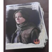 2016 Topps - Star Wars Rogue One Series 1 - Complete 90 Card Base Set
