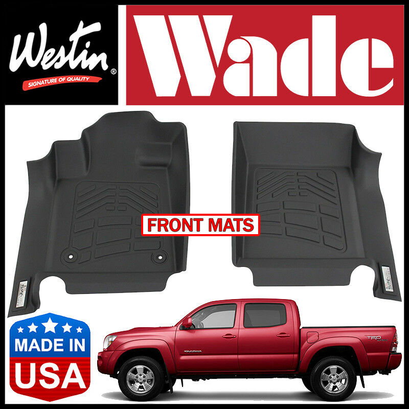 Westin Wade Sure Fit Front Row Floor Mats Fit 2005 2011