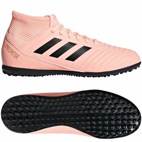 buy popular b9b30 a1f07 Details about adidas Predator 18.3 Tango TF Turf 2018 Soccer Shoes Kids -  Youth Spectral Pink