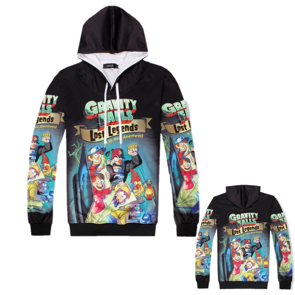 Details about anime gravity falls dipper pines hoodies long sleeve pullover sweatshirt jackets