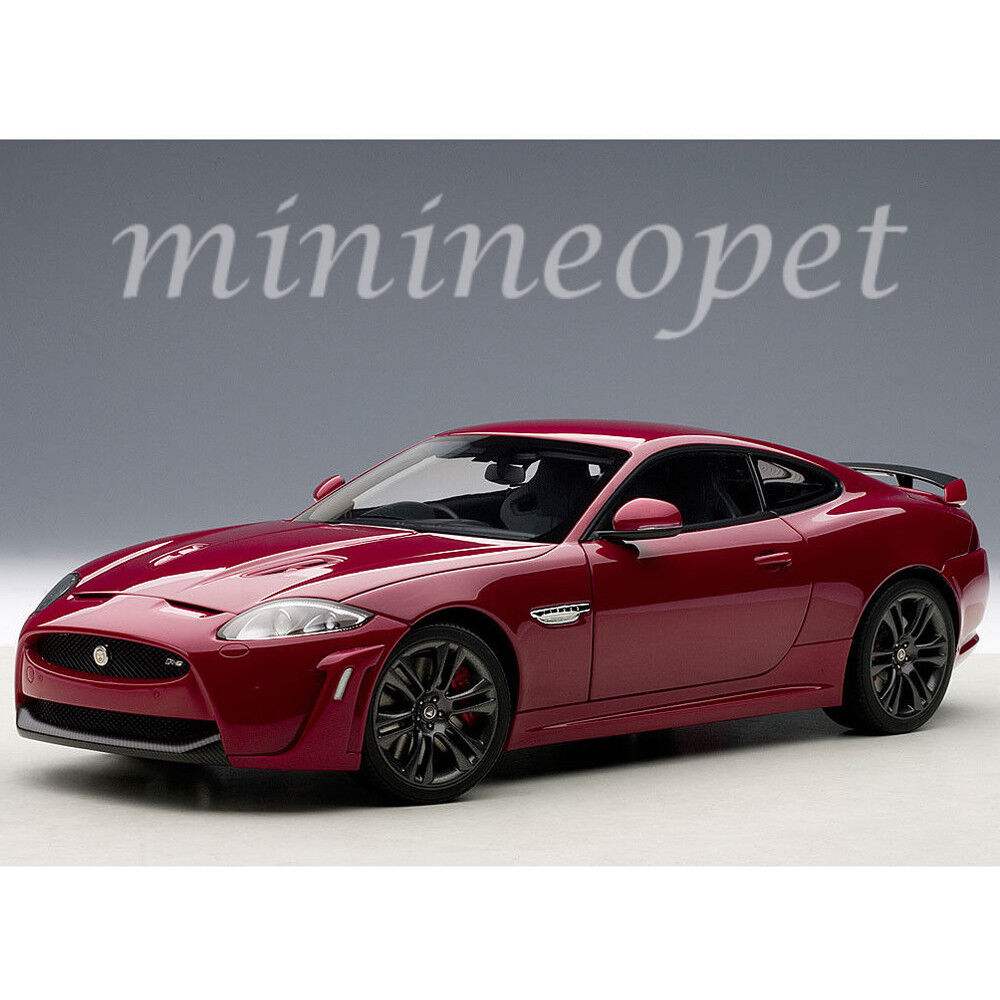 Jaguar Cars: AUTOAart 73642 JAGUAR XKR-S ITALIAN 1/18 DIECAST MODEL CAR
