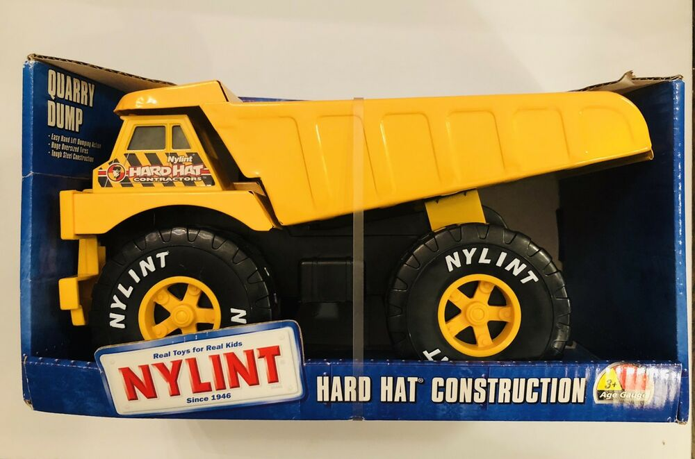 Details About New In Box Nylint Quarry Dump Truck Hard Hat Construction Pressed Steel Metal 99
