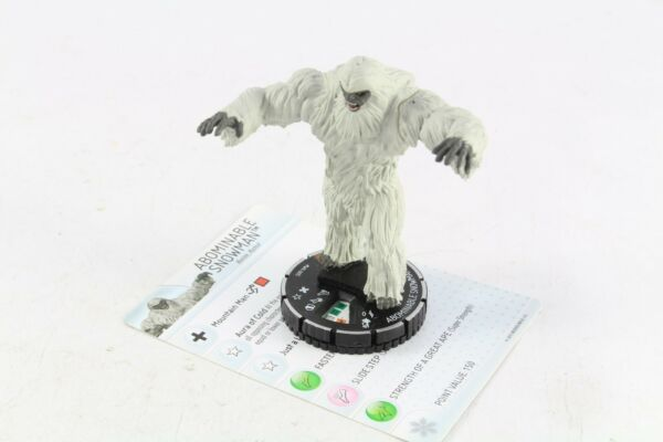 Heroclix Marvel Abominable Snowman WK-005 Heroclix Winter Monthly OP V2