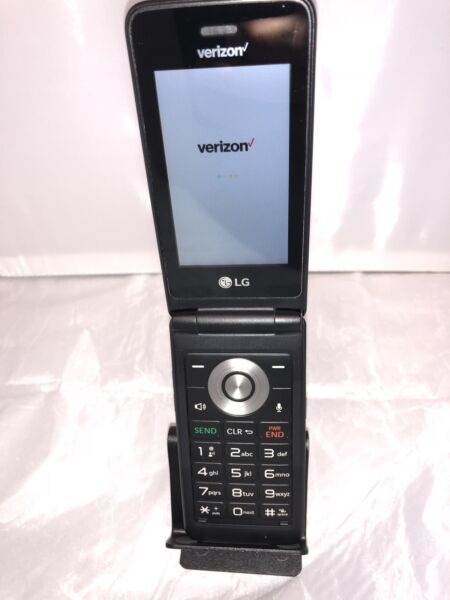 LG Exalt LTE VN220 / VN-220 Verizon / Page Plus Flip Cell Phone - Silver