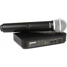 Shure BLX24/PG58 Wireless Handheld Microphone Syst