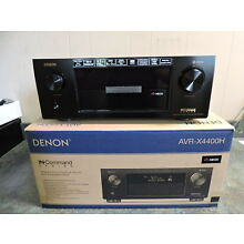 Denon AVR-X4400H 9.2 Channel Full 4K Ultra HD Network AV Receiver HEOS Atmos