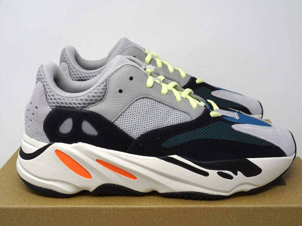 10644d331b4 Details about Adidas Yeezy Boost 700 Wave Runner OG Solid Grey Orange UK 5  6 7 8 9 10 11 US
