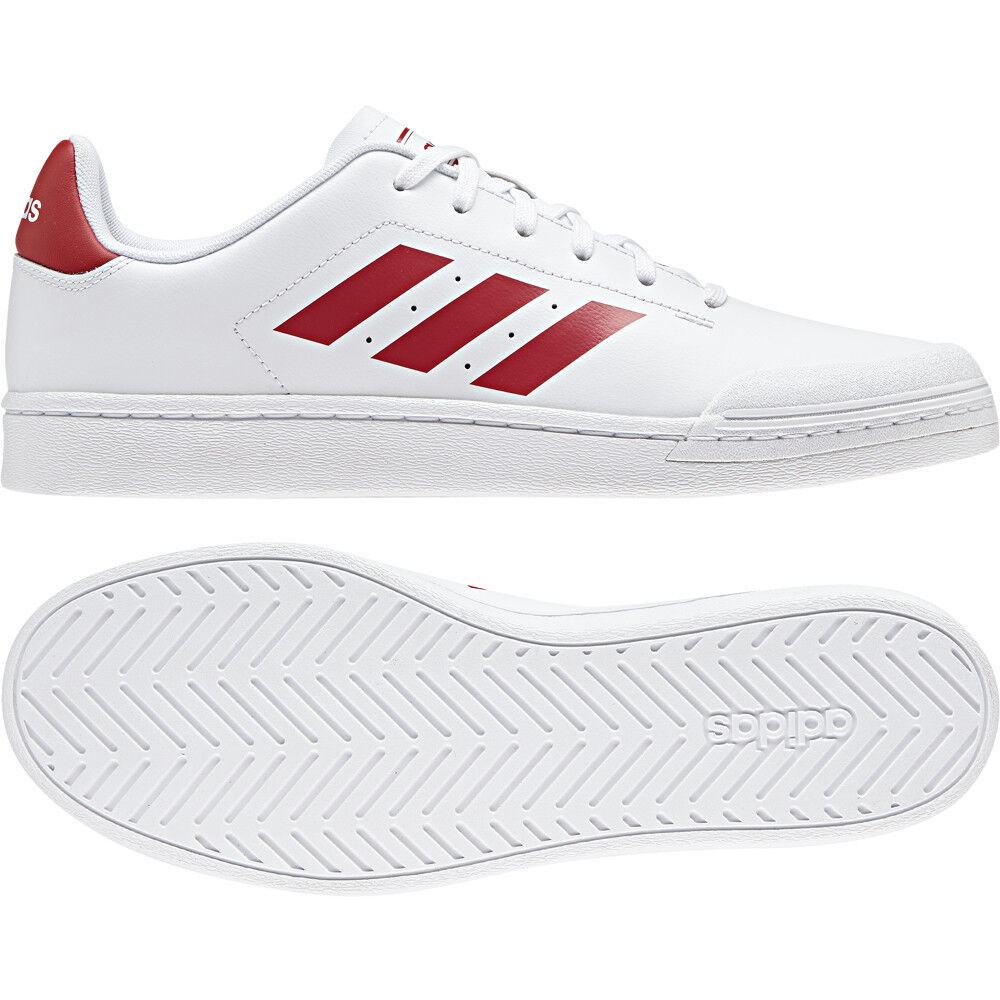 Details about adidas Court 70S White Scarlet B79773 Casual Trainers Size UK  7 - 11 4e18a9200