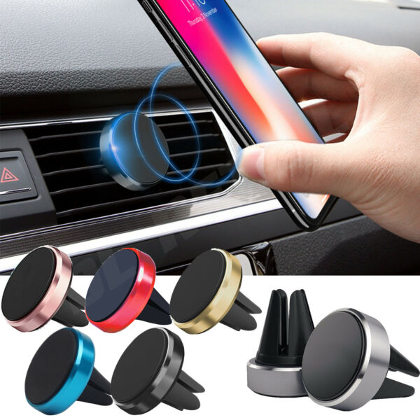 2f2f0c2c3e Universal Magnetic in Car Mobile Phone Holder Air Vent Phone Mount for  Samsung