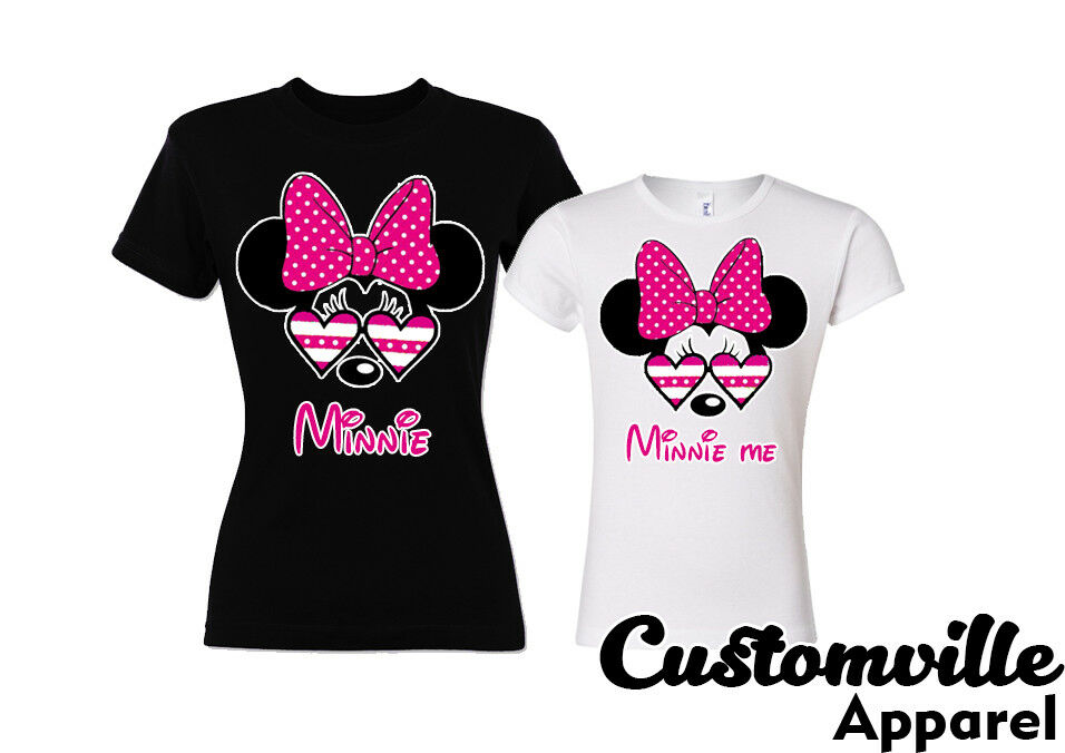 92cab5135 Details about Minnie mom and minnie me Mommy Daughter Matching T-shirts  family vacation shirts