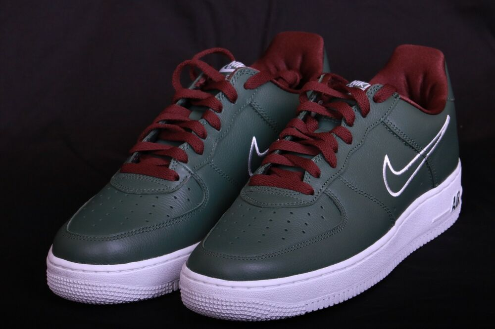 buy popular b98a6 23fc9 Details about Nike Air Force 1 Low Retro Forest White-El Dorado Hong Kong  845053 300 Sz 8.5-13