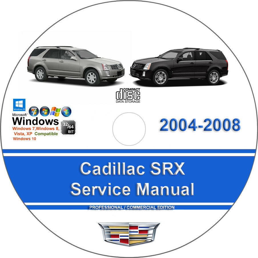 Cadillac SRX 2004 2005 2006 2007 2008 3.6L 4.6L Factory Service Repair  Manual | eBay