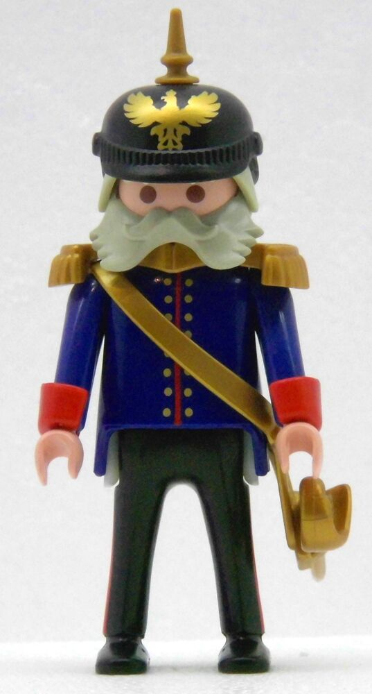 Prussia general with spiked helmet 1900 playmobil to o v bismarck soldiers ww ebay - Playmobil soldat ...
