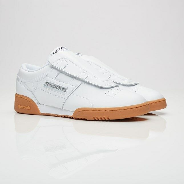 164f29939fcd8 Details about Reebok Beams X Workout Lo Clean BD5811 White Gum Men Size US  9.5 NEW Limited