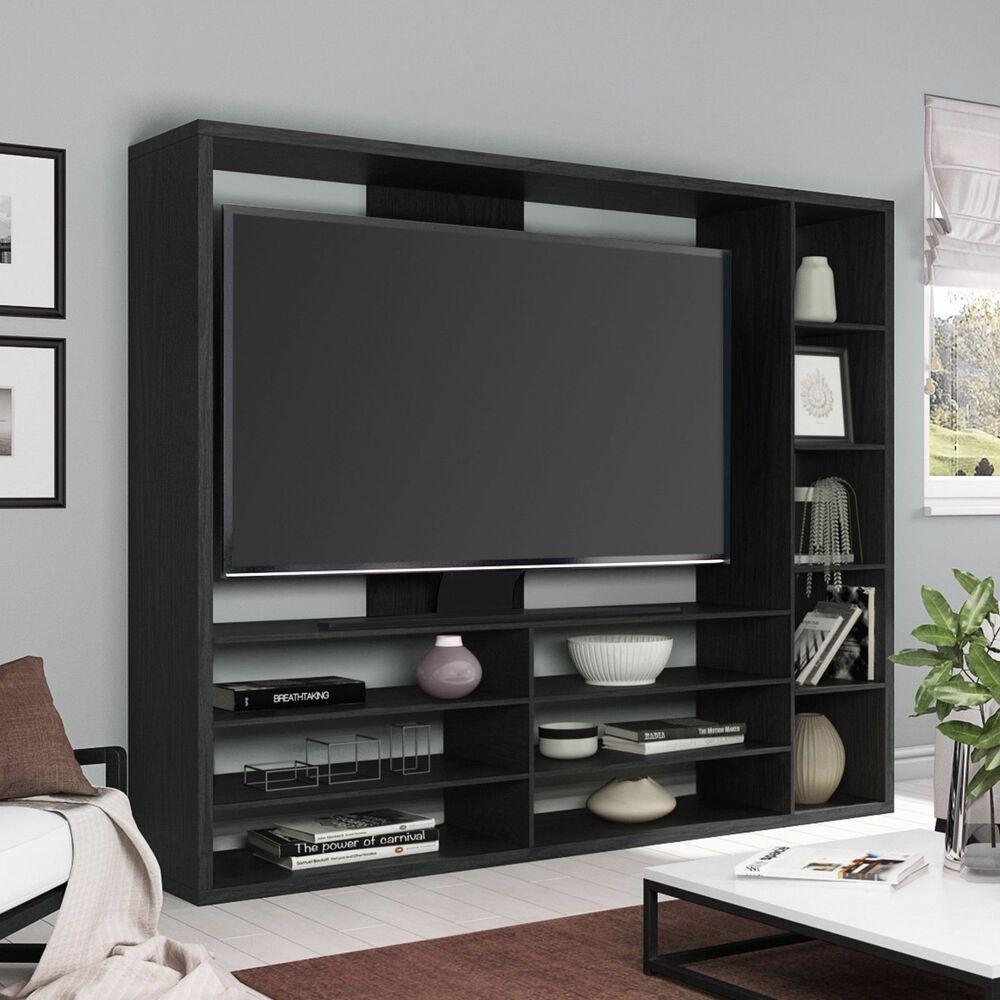 Tv Entertainment Center Wall Unit Storage Bookcase With Television